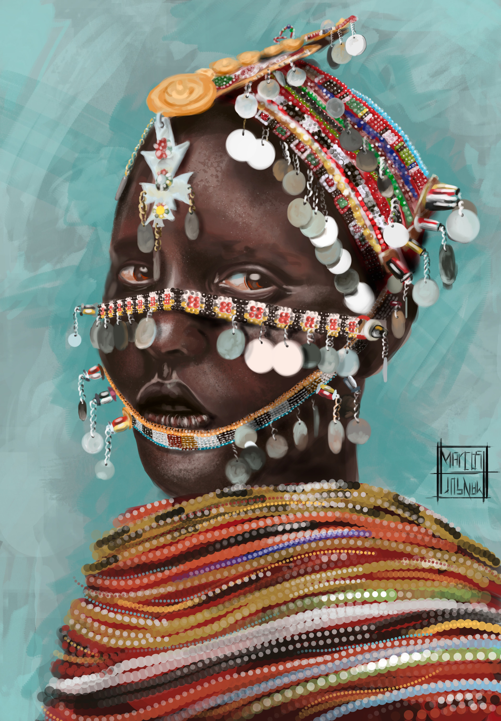 Marcos mansur african