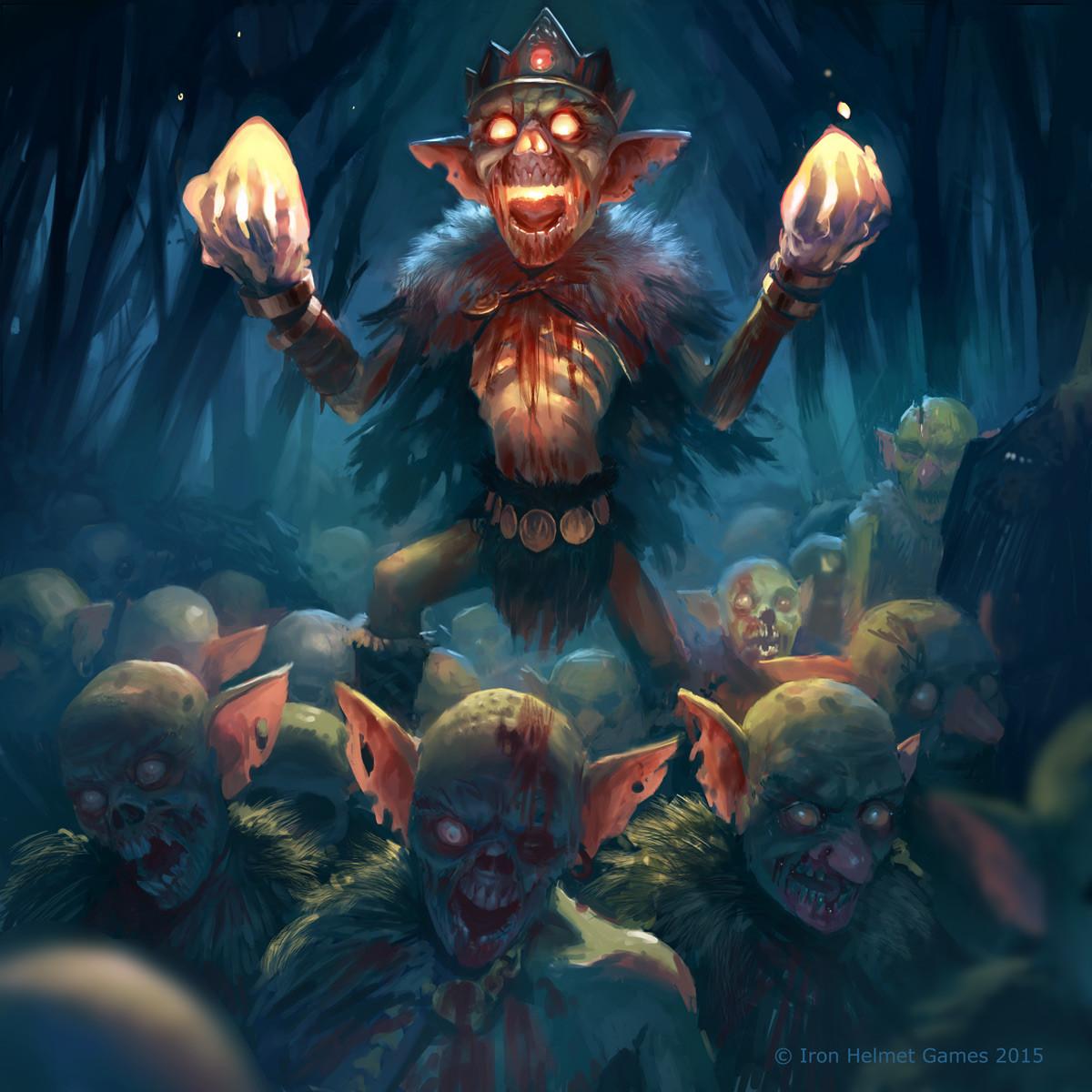 Zombie Goblin Beacon