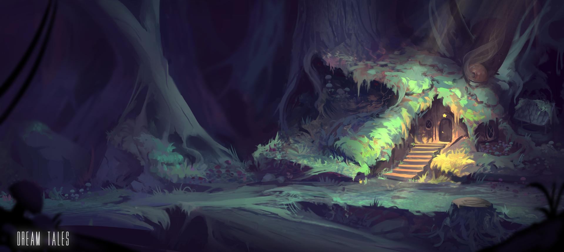 Roberto gatto dream tales forest2