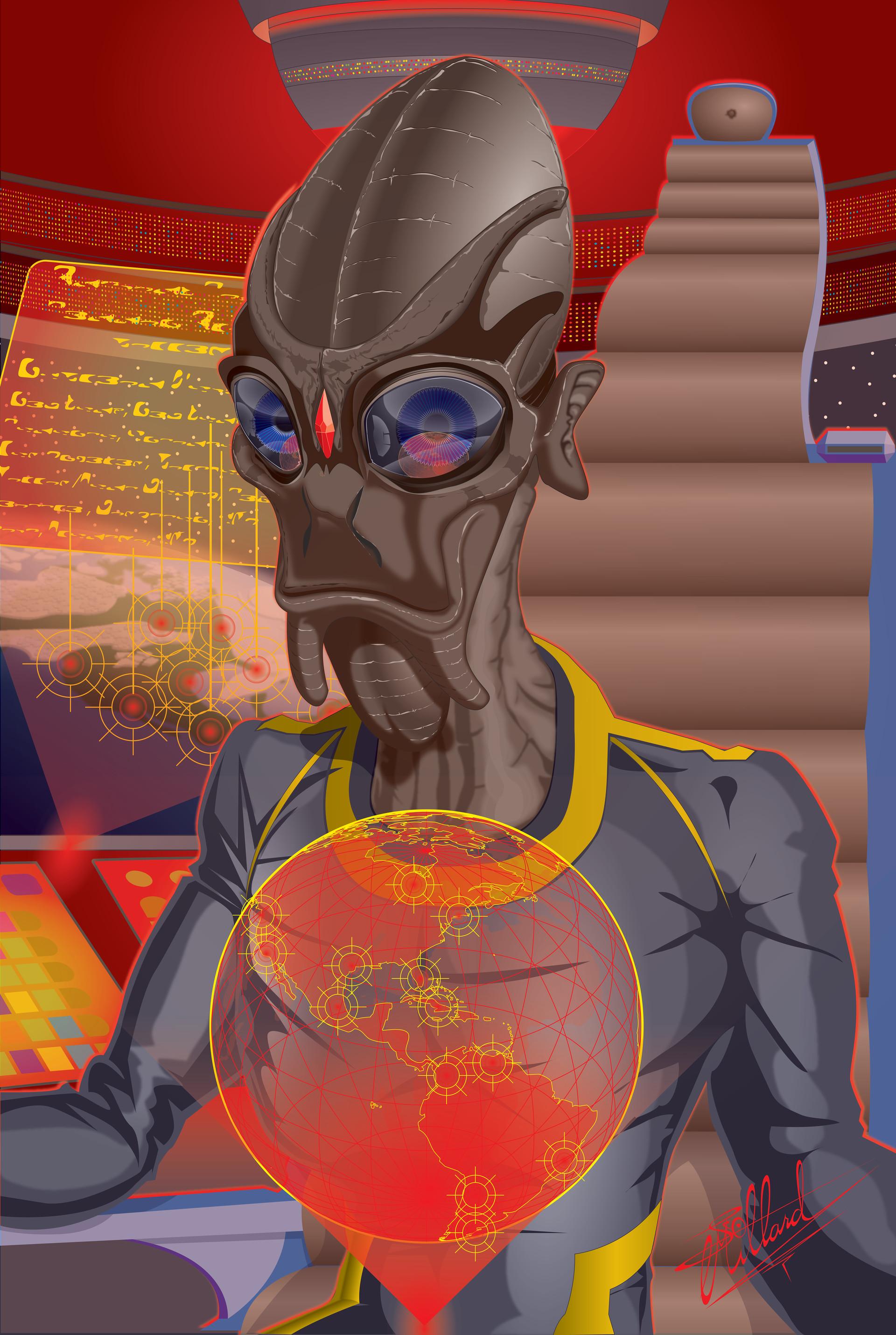 Scott millard alienofficer vector