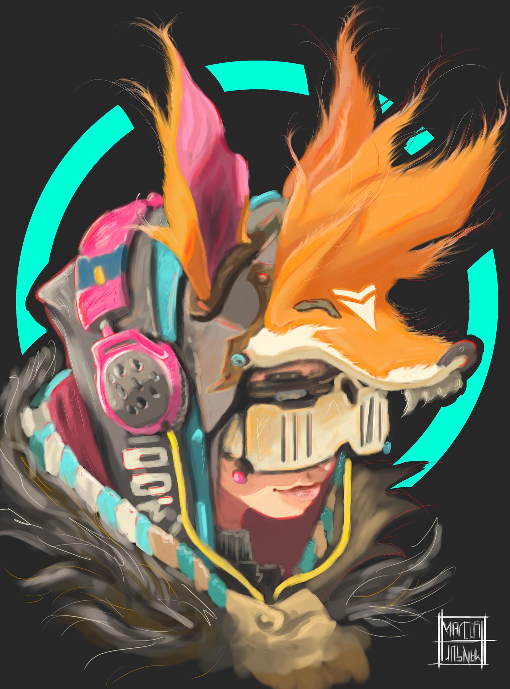 Marcos mansur fox