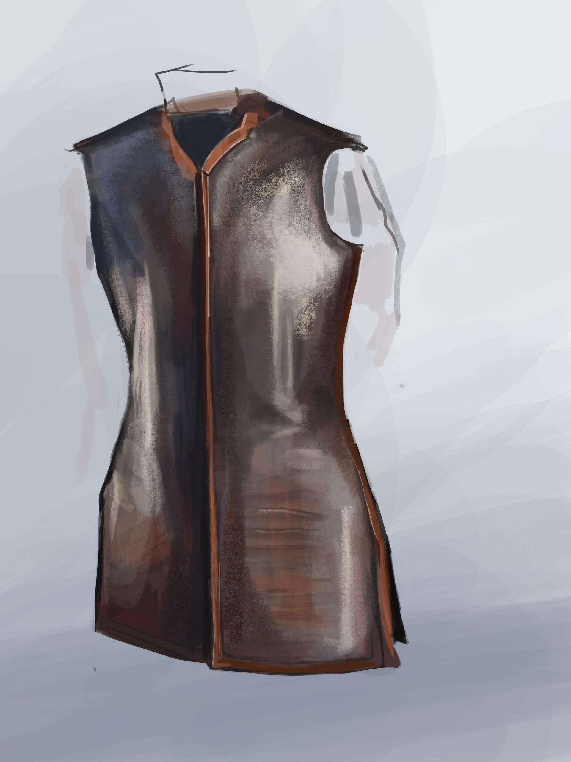 Maciej laszkiewicz leather armor2
