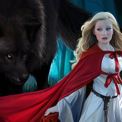 Cecilia g f the big bad wolf