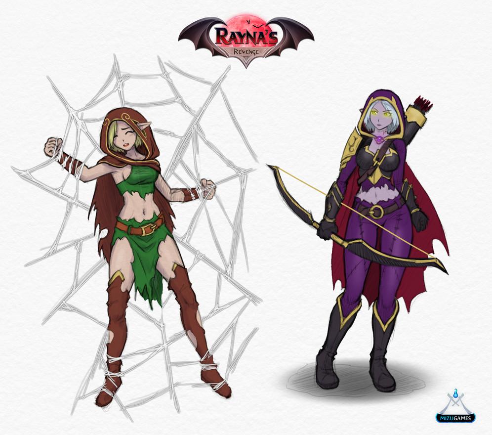 Emma salamanca archer transformation concept