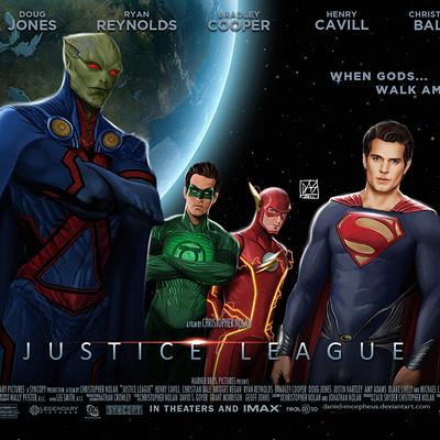 Daniel de almeida e silva justice league movie poster by daniel morpheus d4ga8dj
