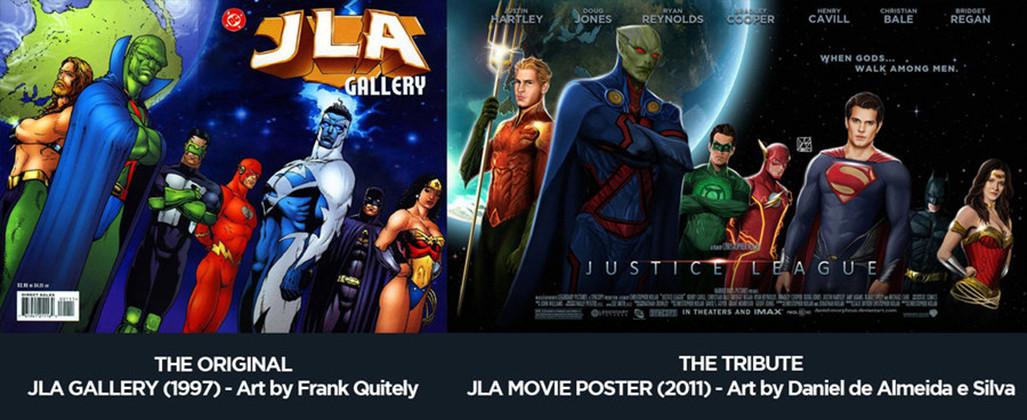 Daniel de almeida e silva justice league movie poster tribute by daniel morpheus d4h8r4o