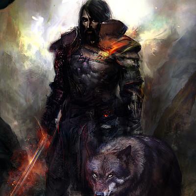 Murat gul warrior by muratgul