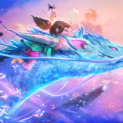 Ross tran spirited away final