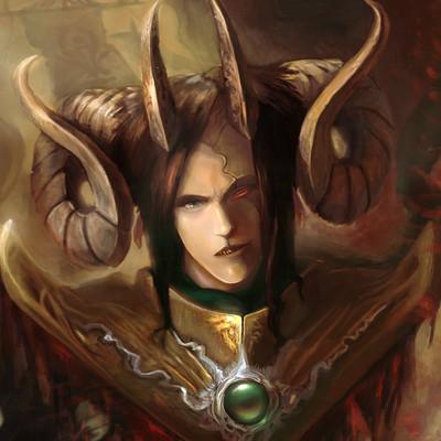 Lorenn tyr warlord horns faction