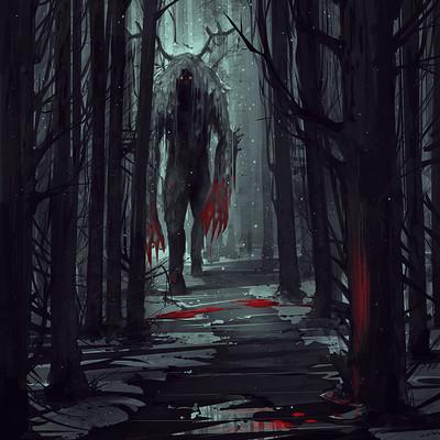 Alena aenami forest beast1900