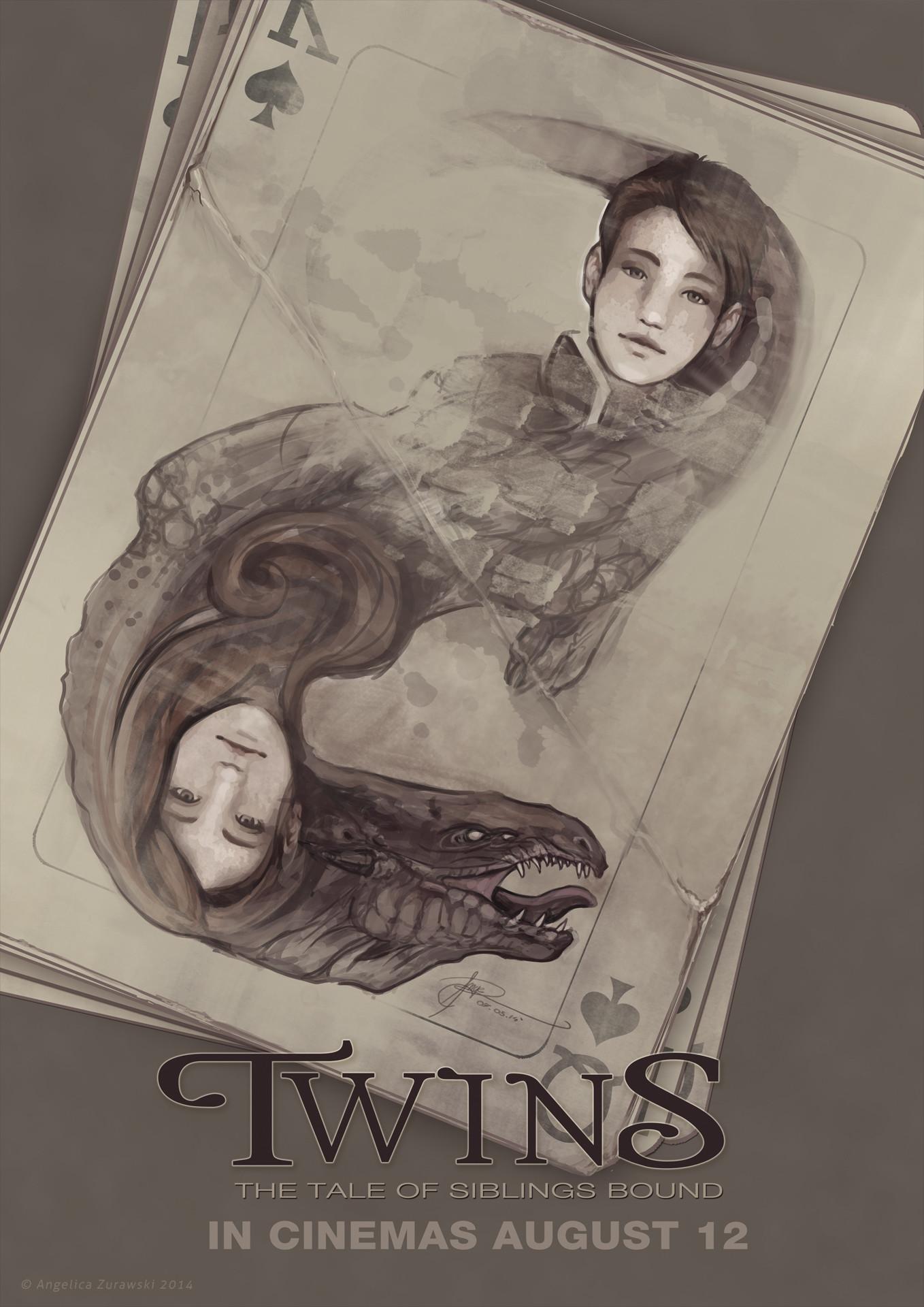 Angelica zurawski twins by endzi z