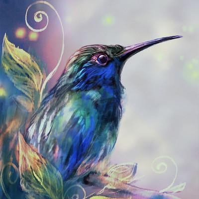 Angelica zurawski hummingbird2 by endzi z