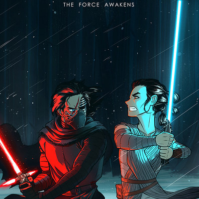 Andrew kwan the force awakens by andrewkwan d9stolj
