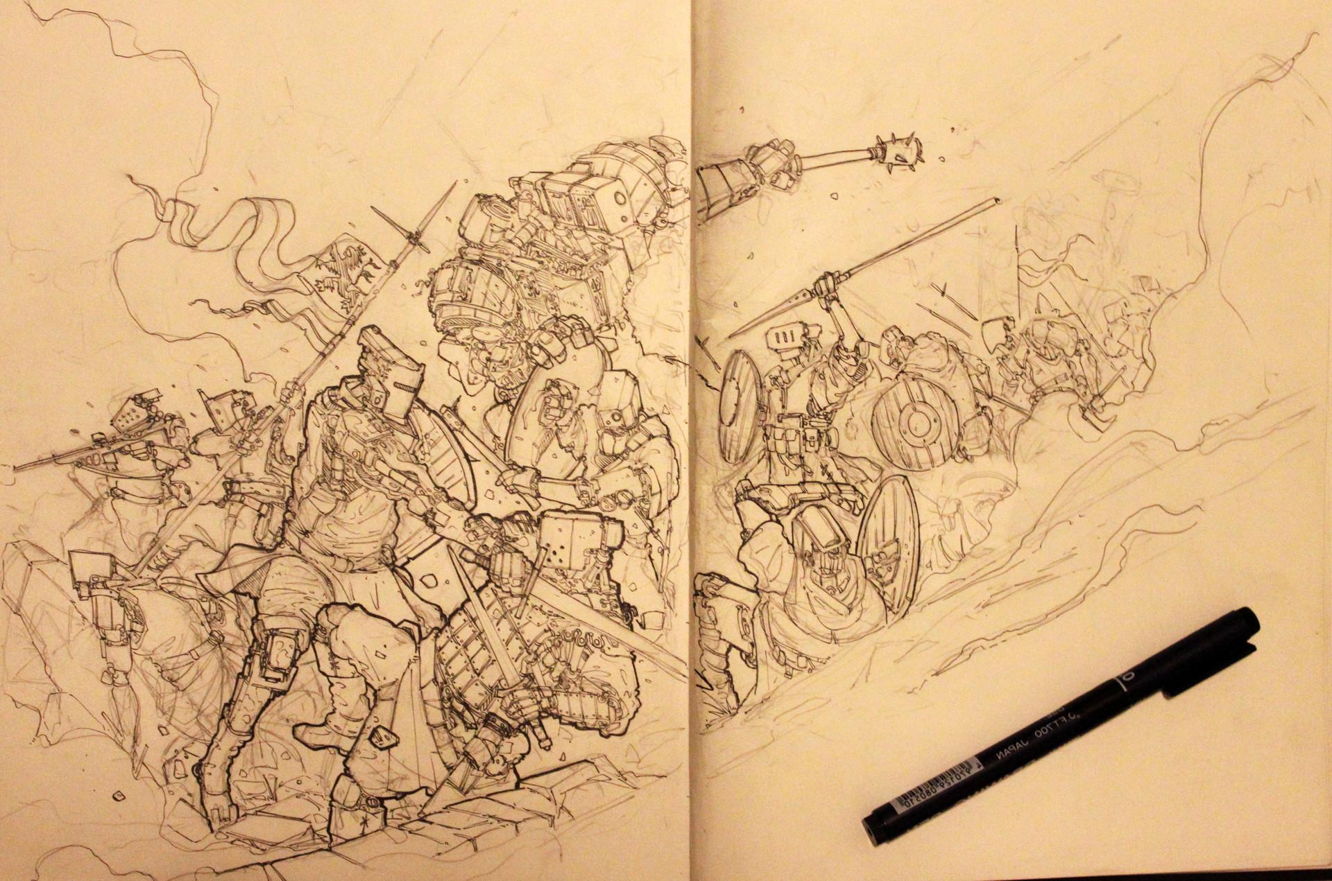 F f ironland battle