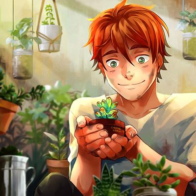 Jia ying ong succulents boy