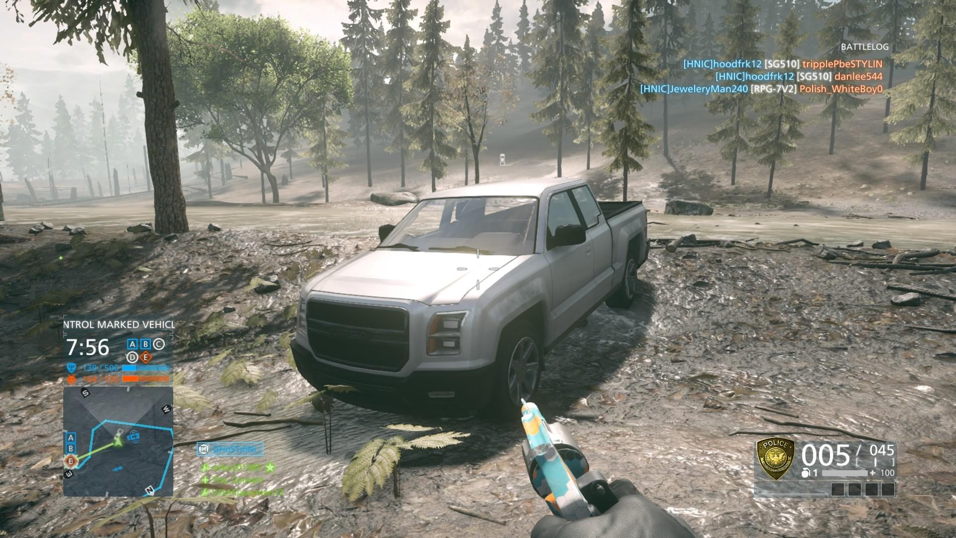 Alex jay brady pickup truck