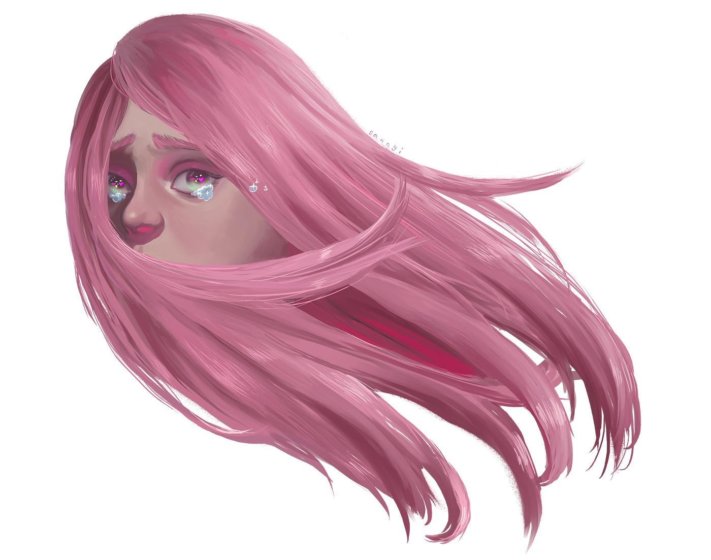 Amanda corona pinkhaired