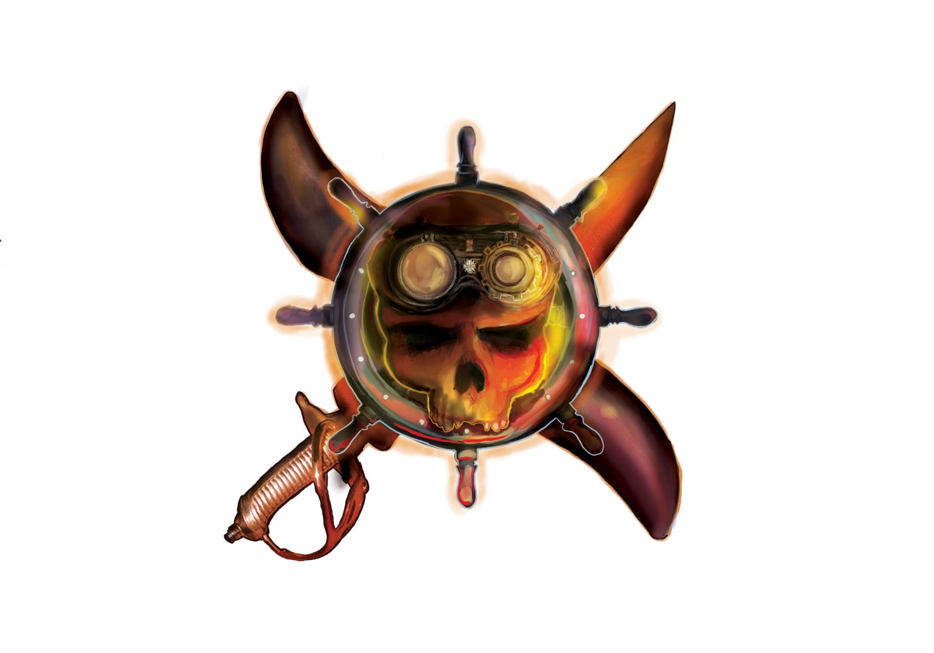 Francisco k 1 skull logo