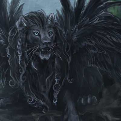 Angelica zurawski land of black lions by endzi z