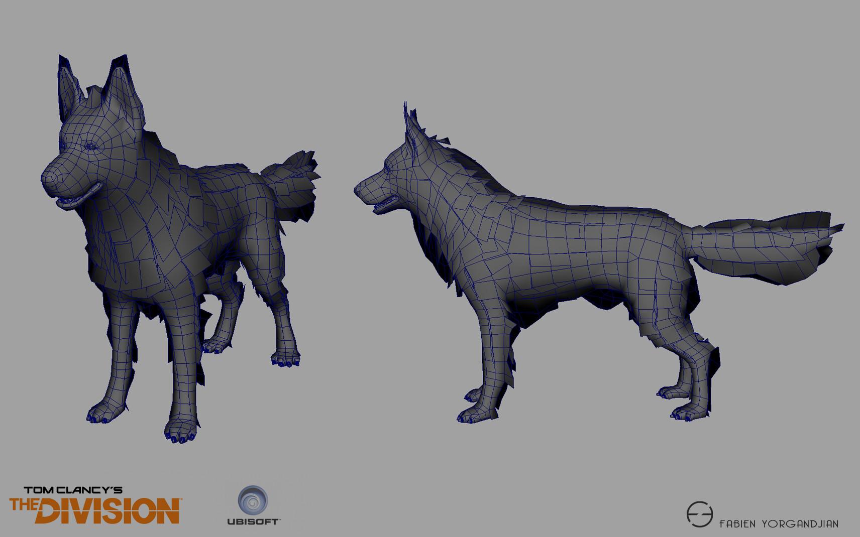 Fabien yorgandjian the division dog03 ingame