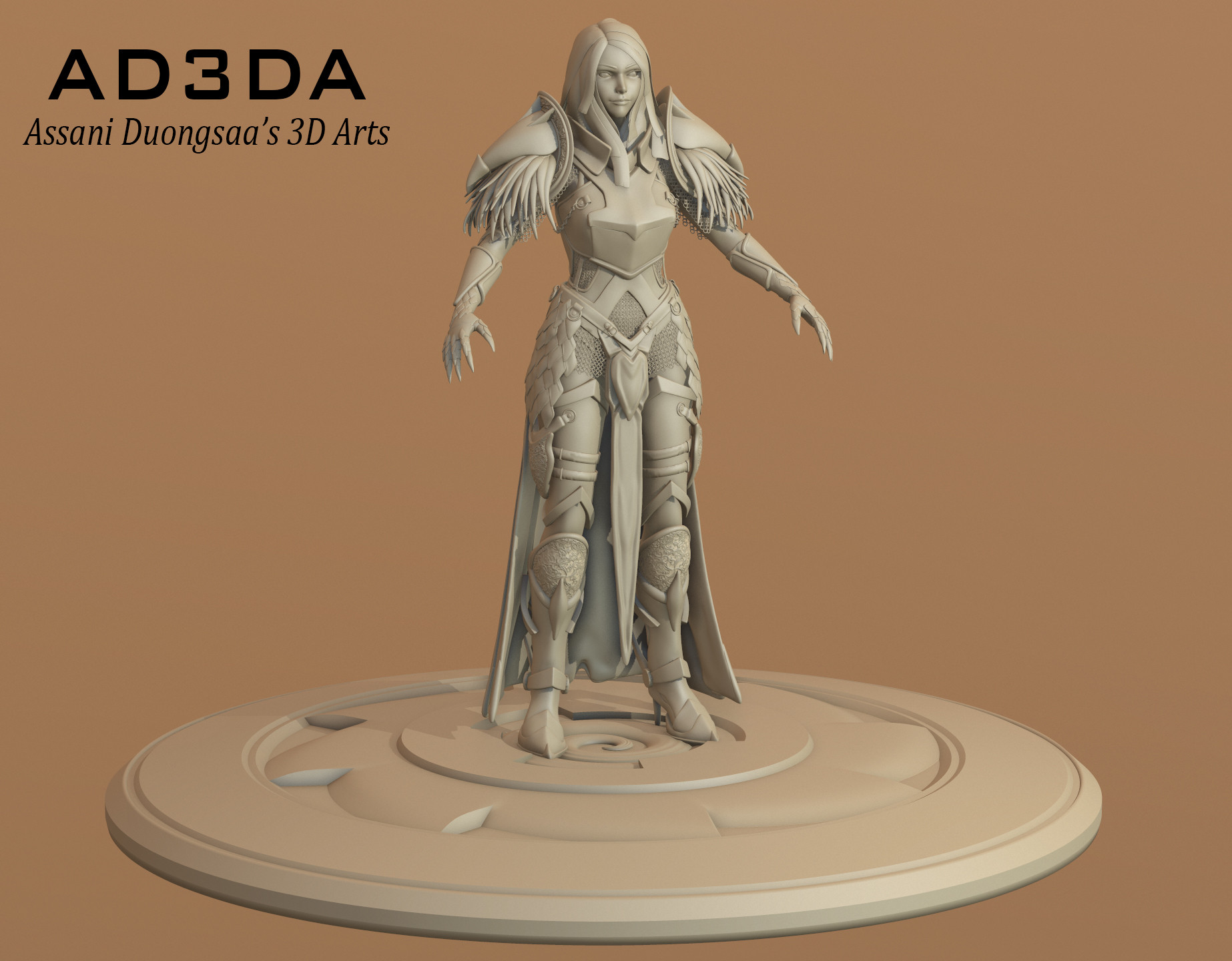 Queen of Crows - Sculpt
