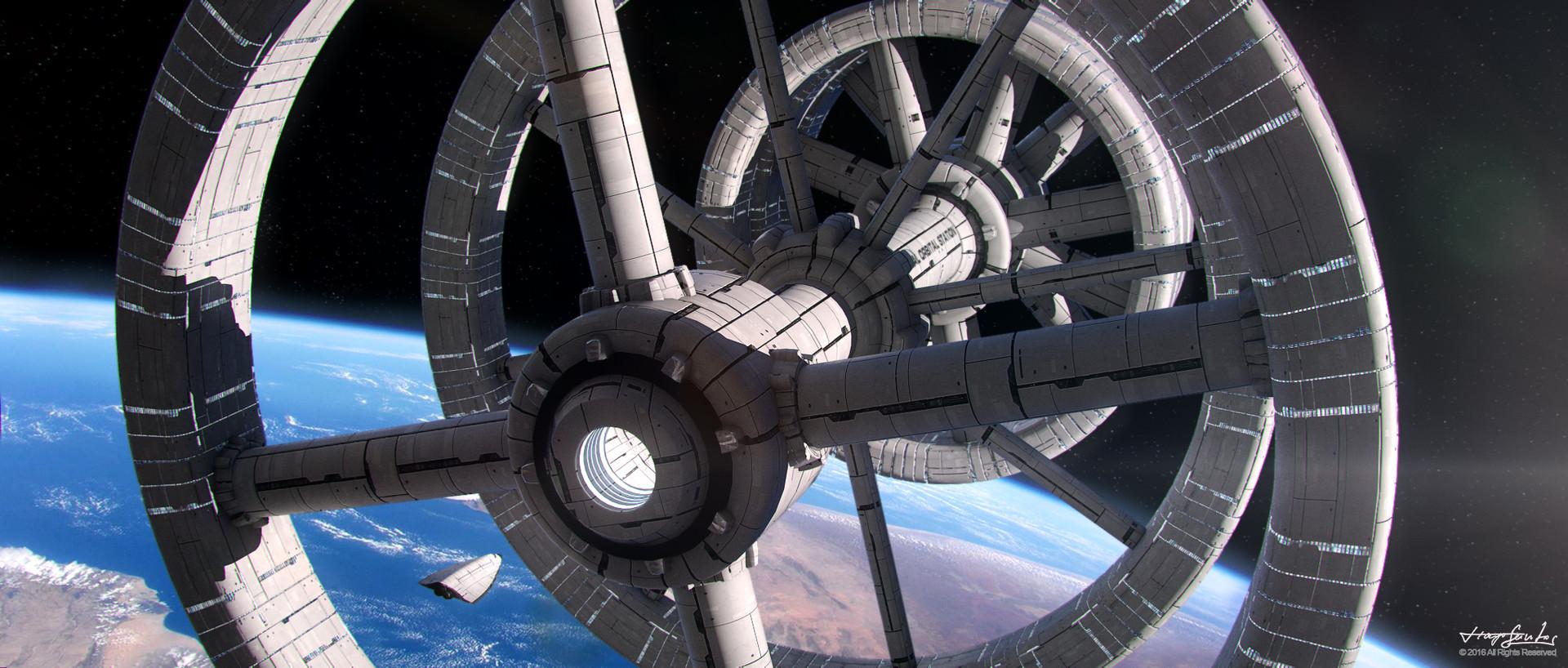 Tiago santos international orbital station