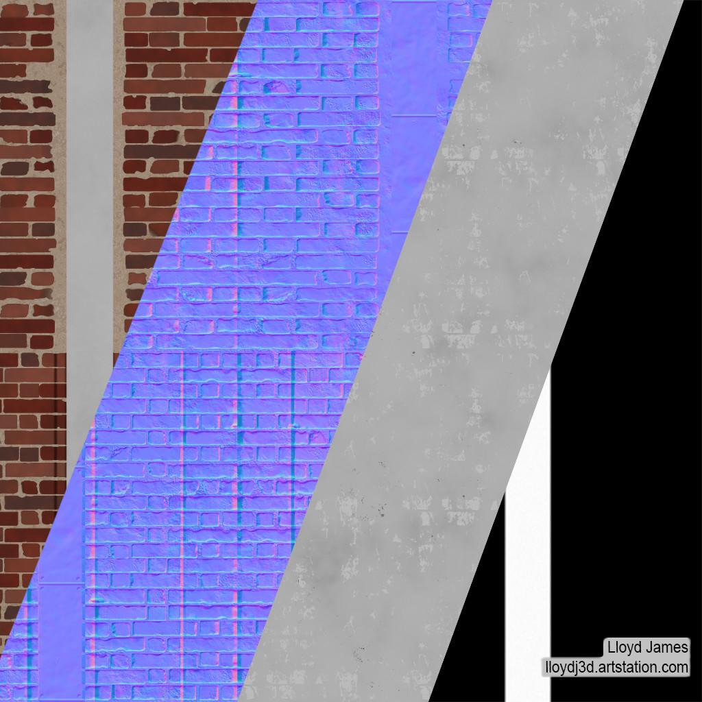 Lloyd james brick column breakdown