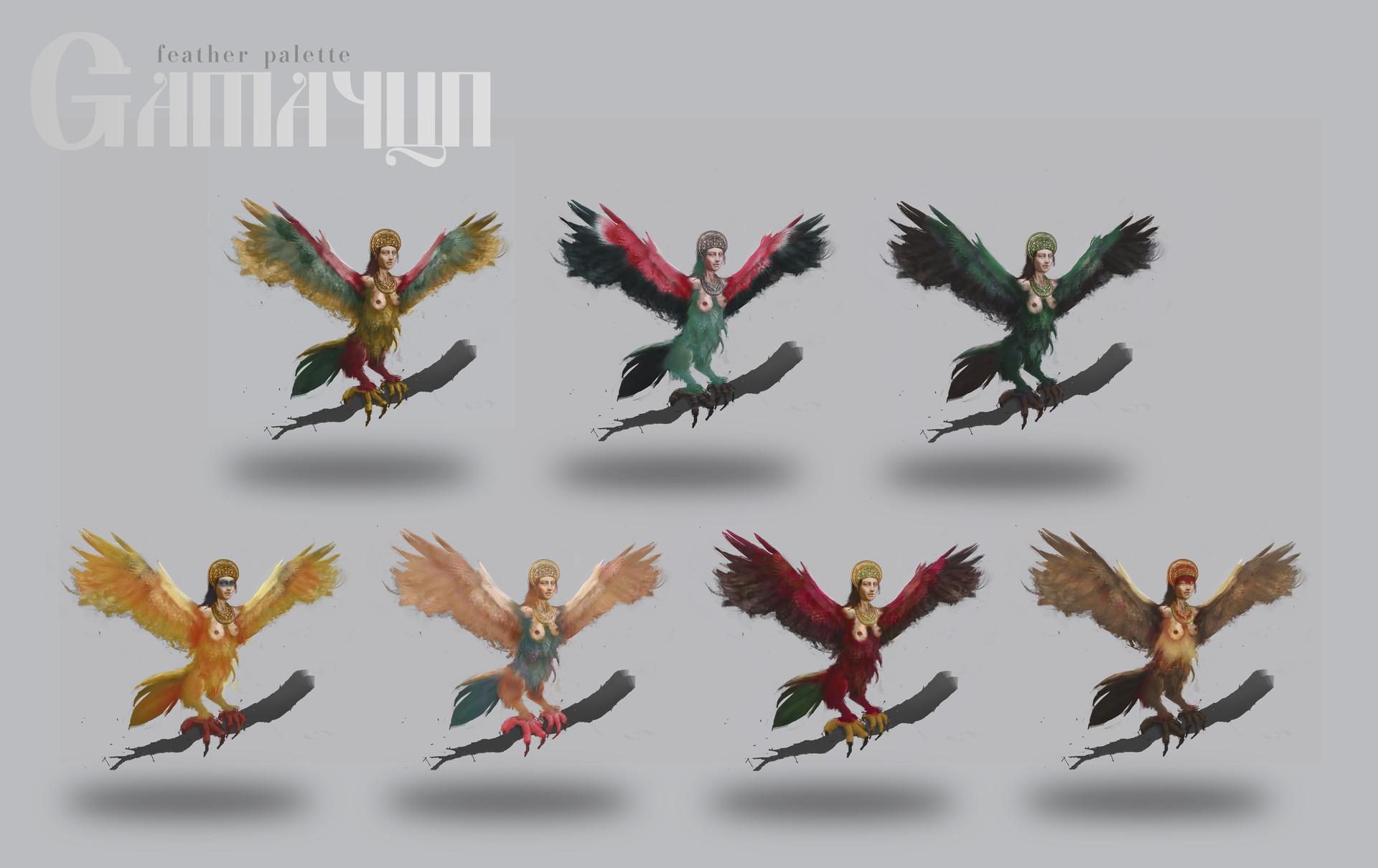 Maya grishanowitch gamayun featherpalettev2