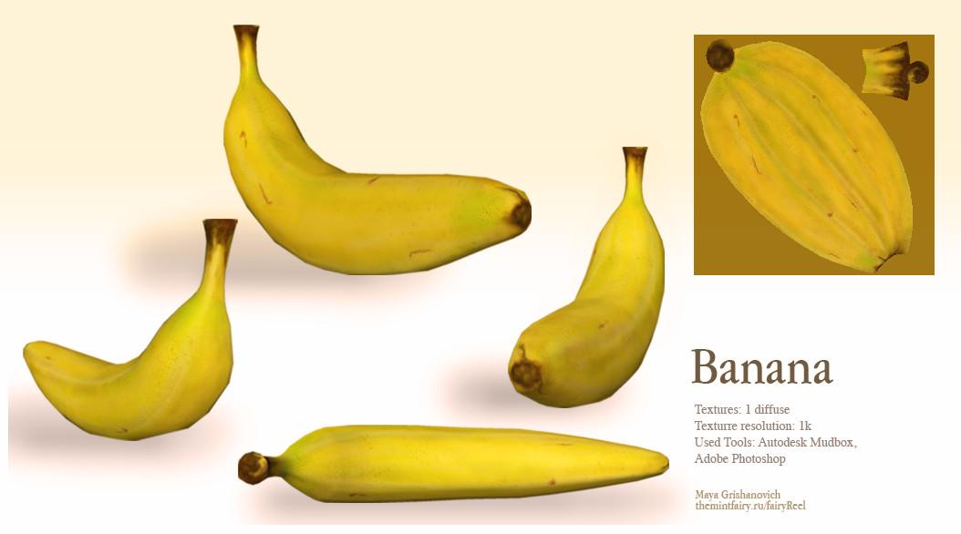 Maya grishanowitch banana