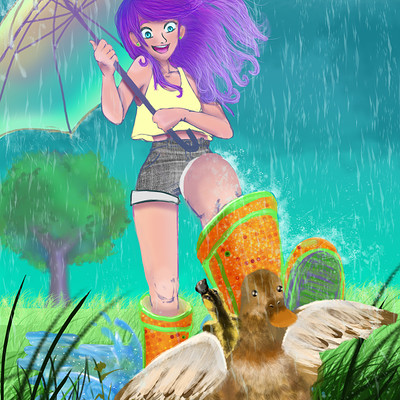Alexandra hall pinner rain girlfinal