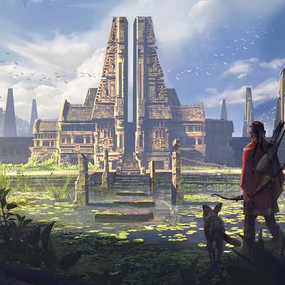 Hakob minasian ancient templeb