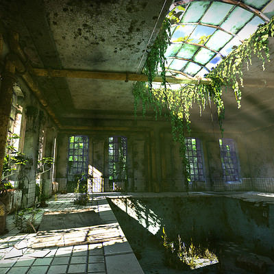 Jonas axelsson abandoned room 02