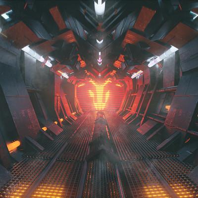 Kresimir jelusic robob3ar 92 090116 scifi corridor copy