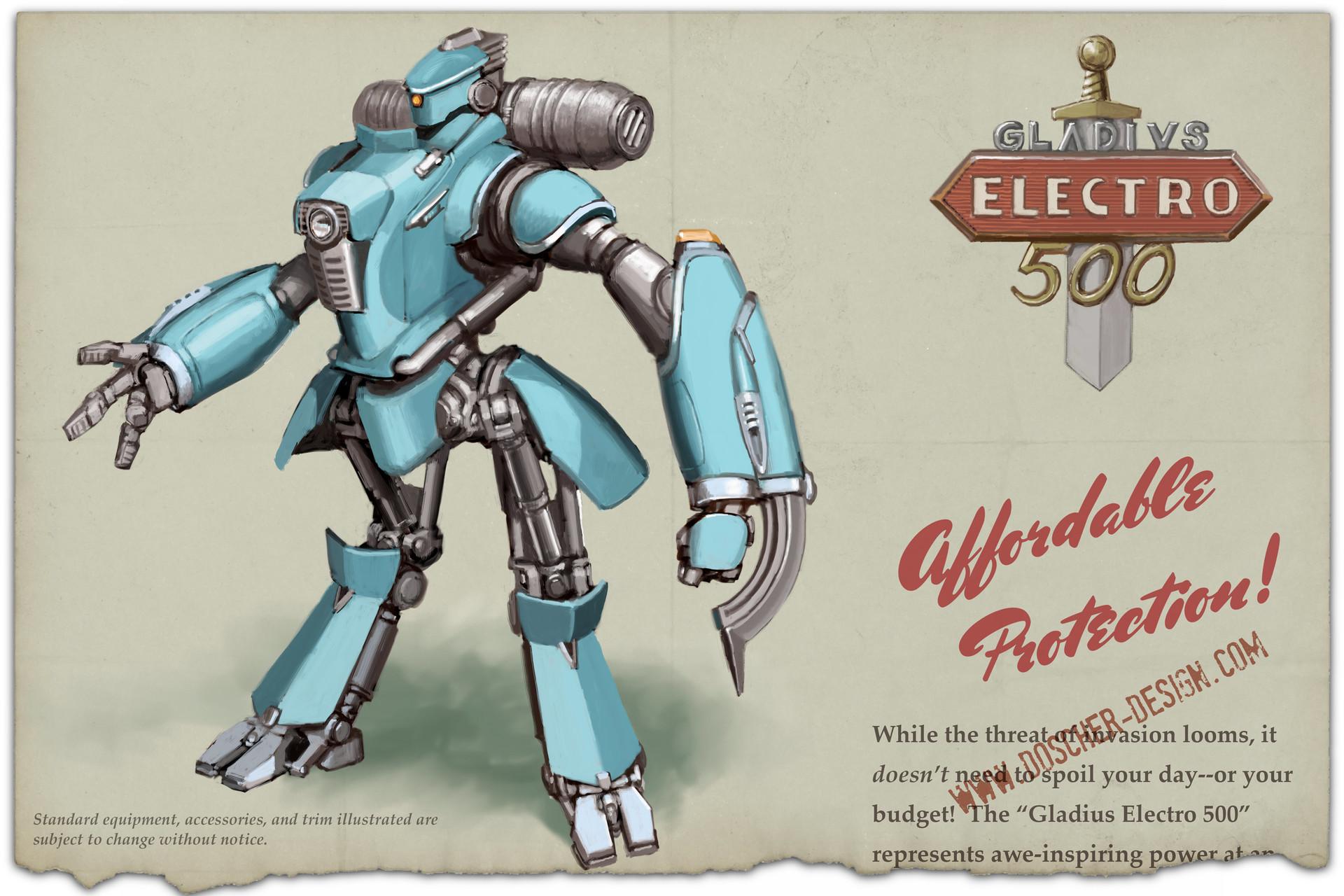 Gladius Electro 500