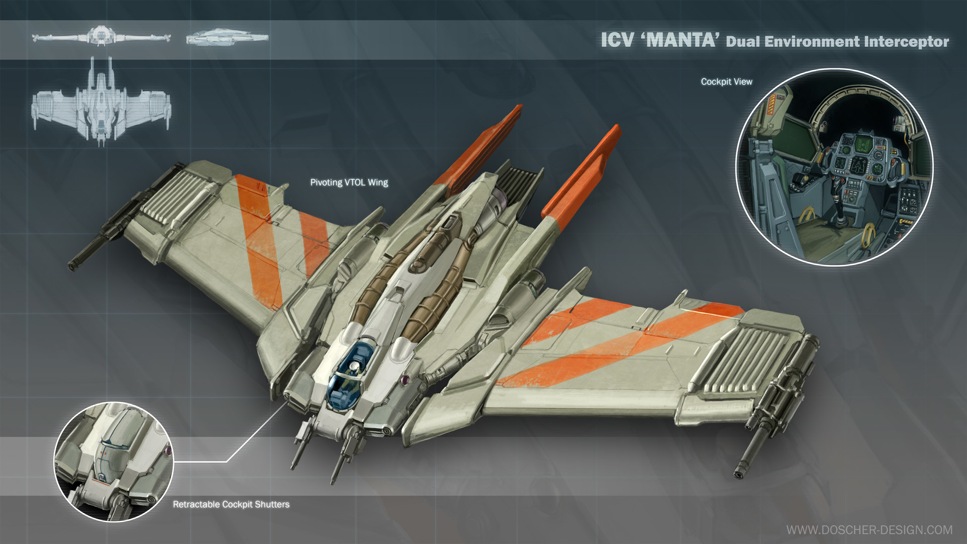 ICV 'Manta' Interceptor