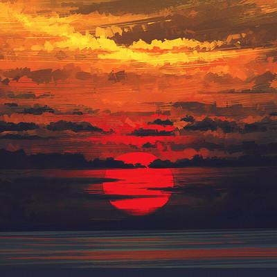 Alena aenami sunset2k