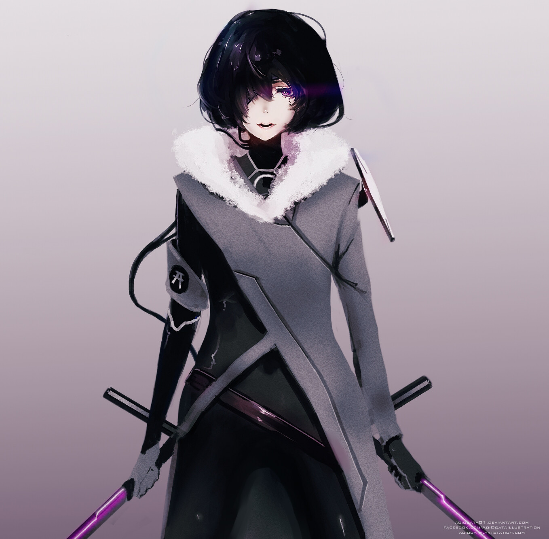 Aoi ogata doodle sword