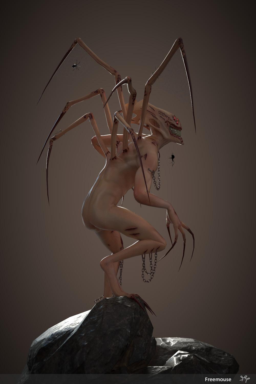 Anais barbeau creature back