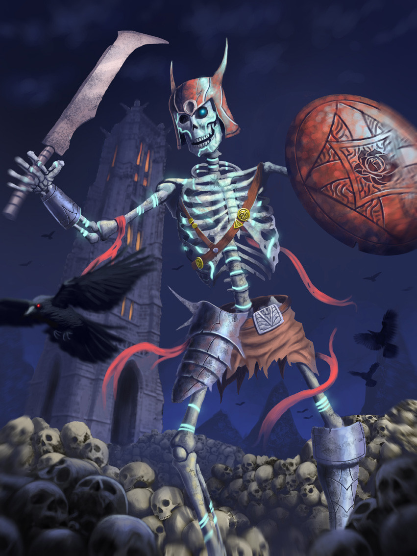 Renan moraes skeleton def