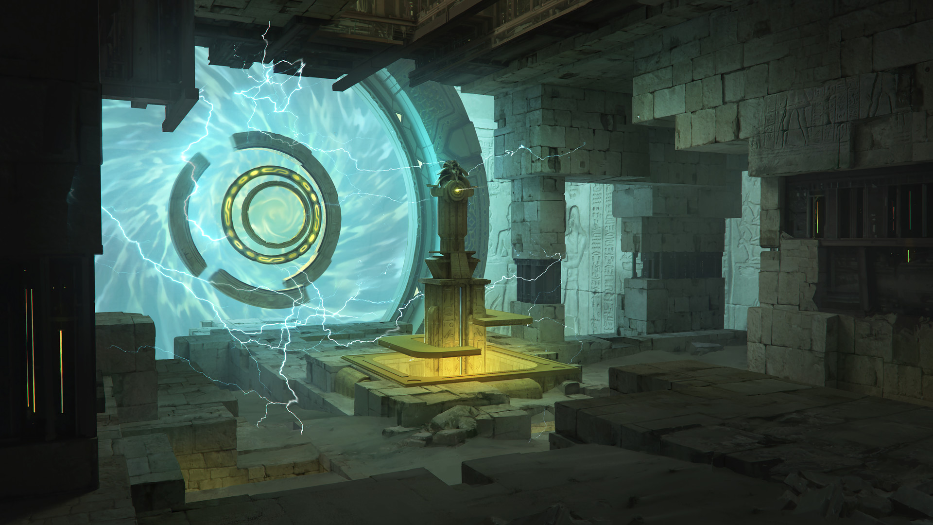 Franklin chan underground portal