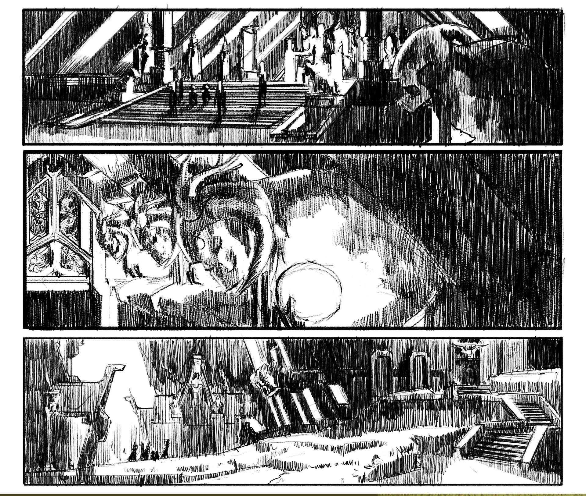Marina ortega composition sketches 2