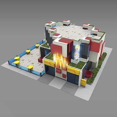 Piero macgowan xcom2 16 citycenter building exteriors piero macgowan