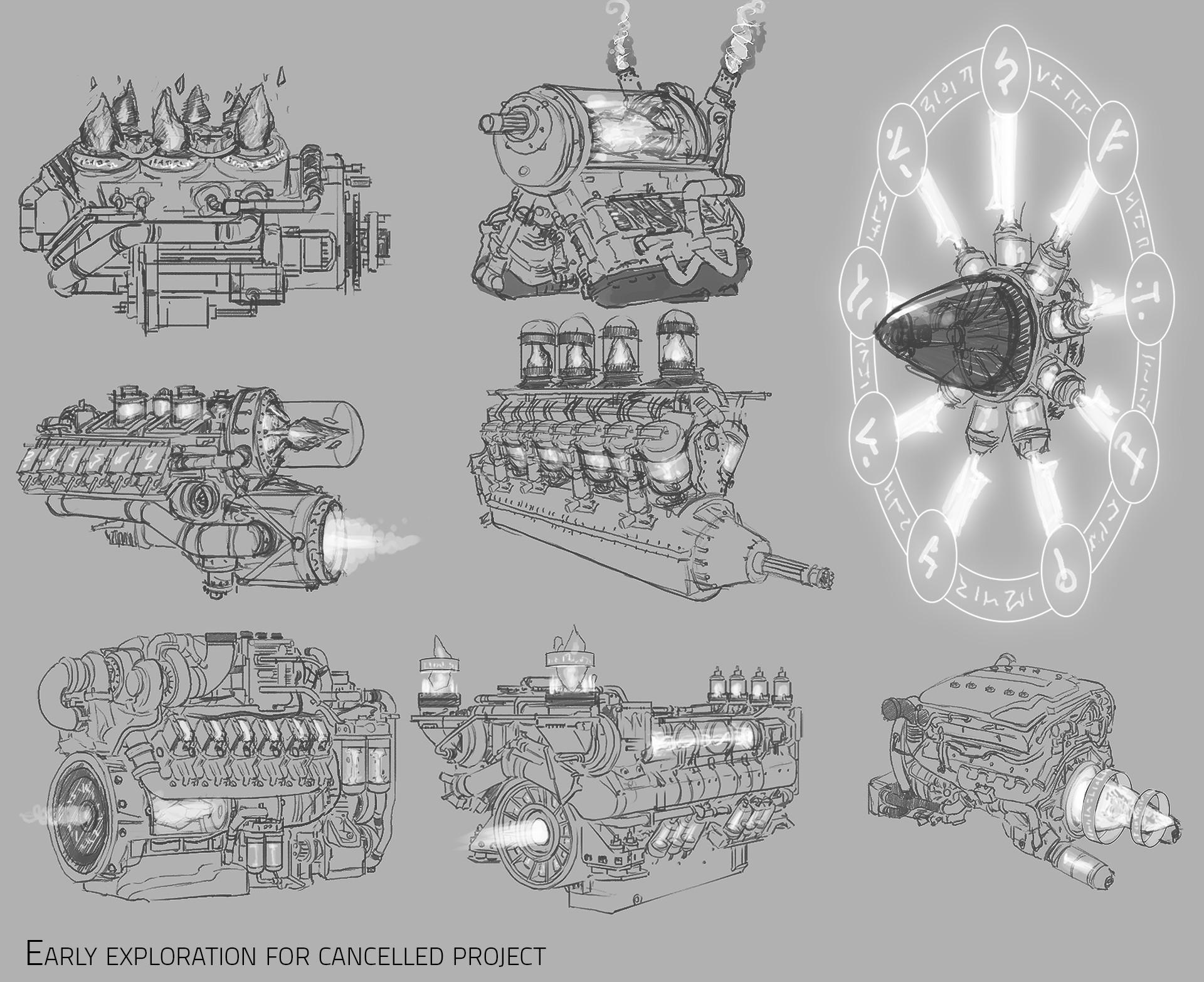 Shaun ellis magic engines