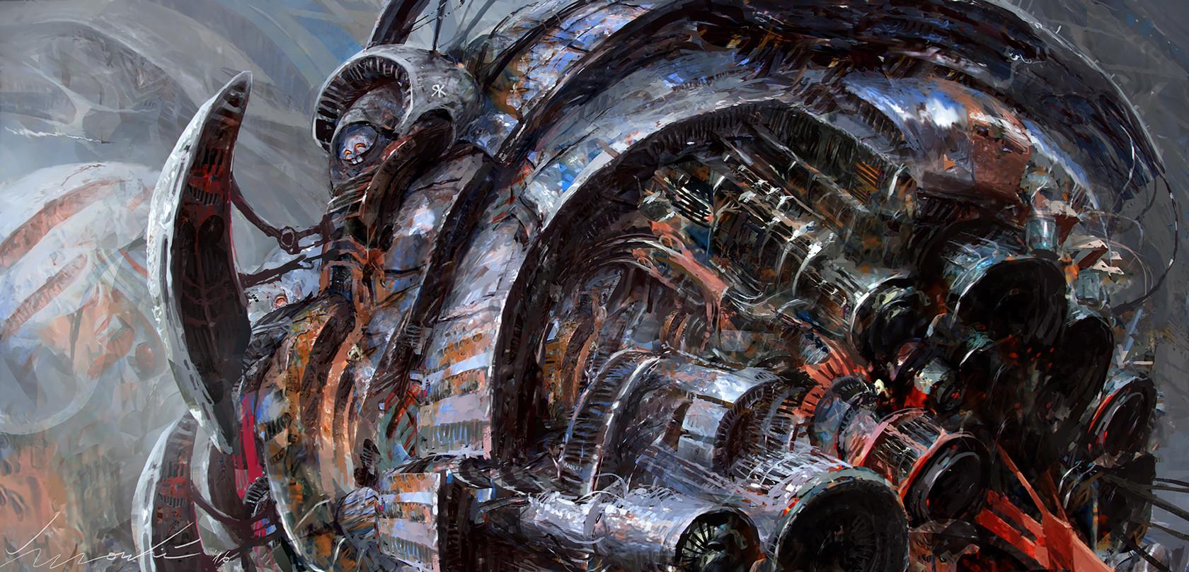 Zivko kondic stream 032 happy little spaceship 1680