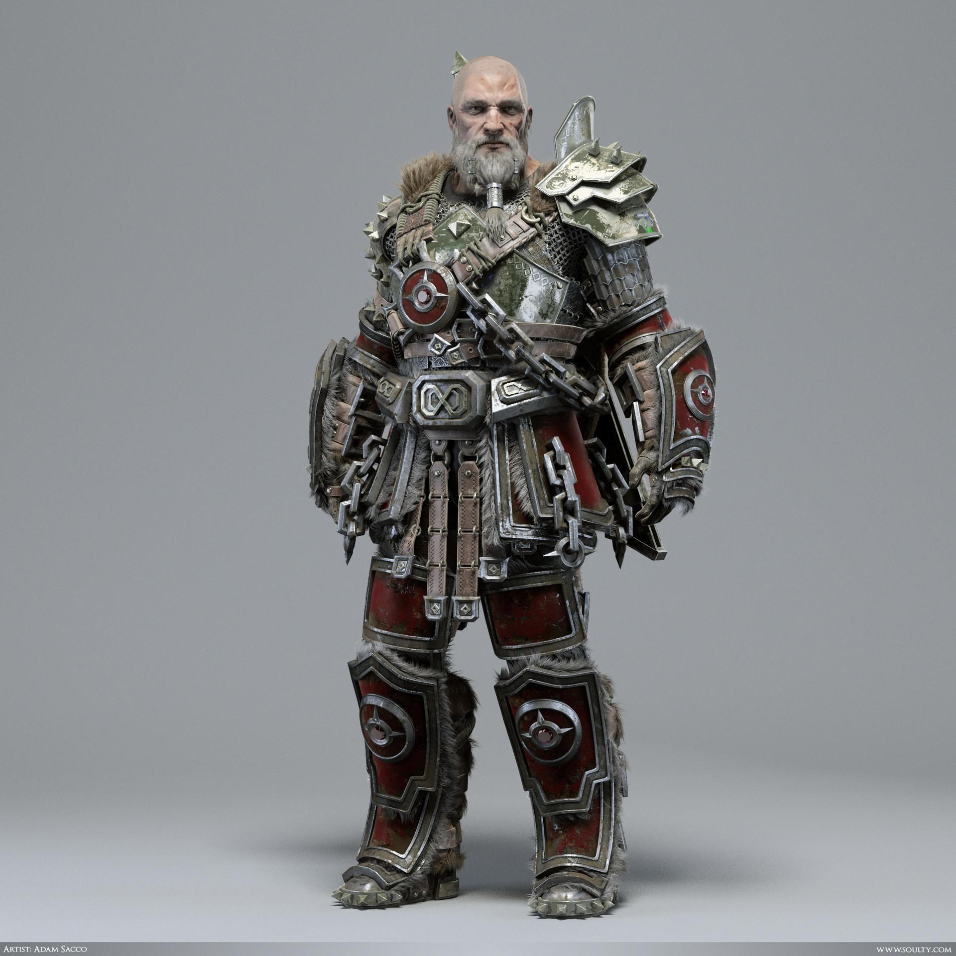 Adam sacco archaic warrior 1