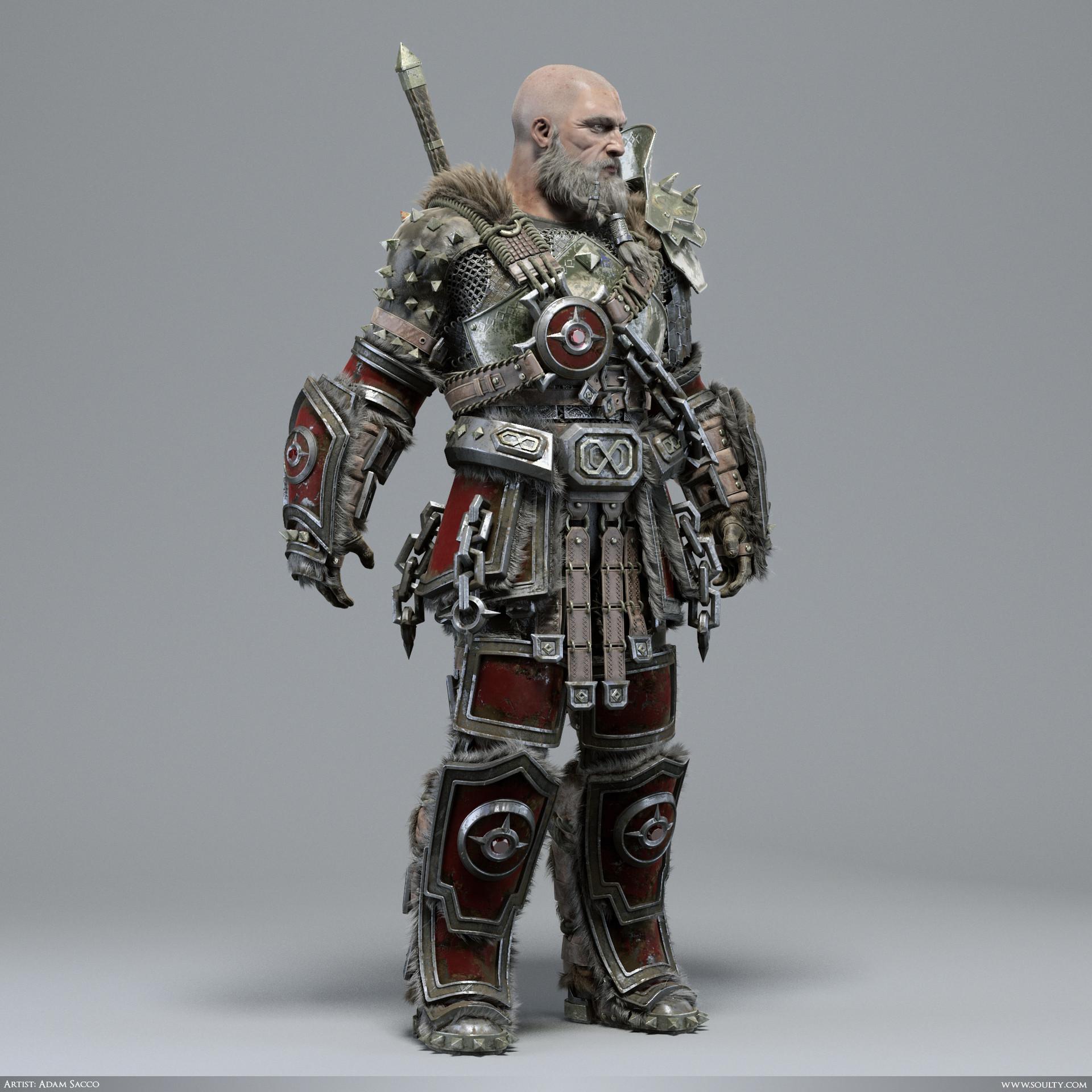 Adam sacco archaic warrior 2