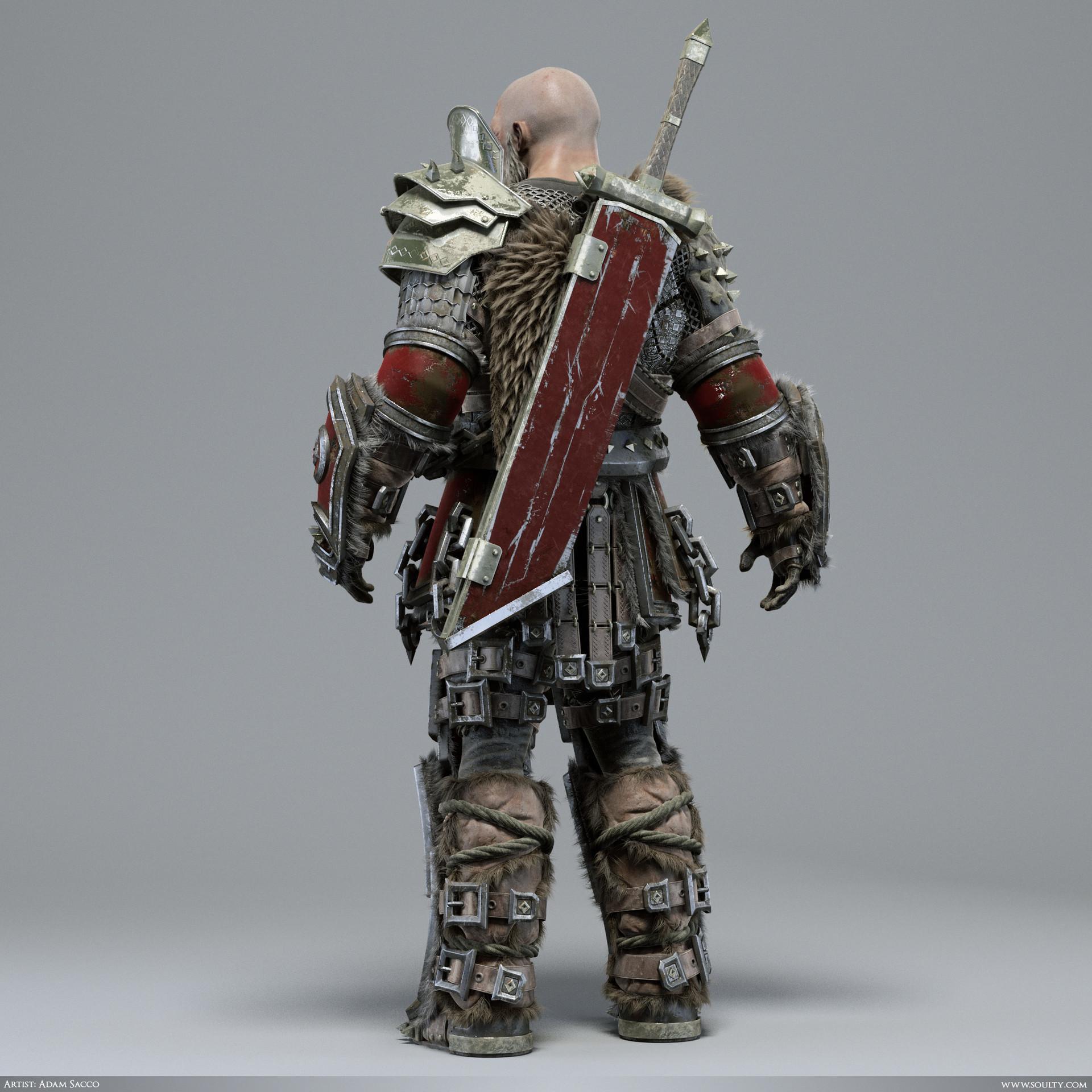 Adam sacco archaic warrior 3