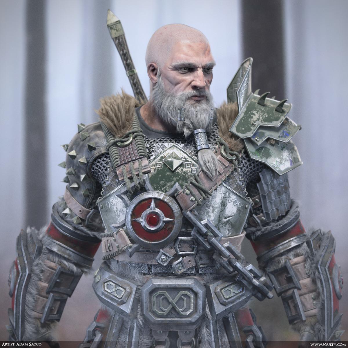 Adam sacco archaic warrior close1