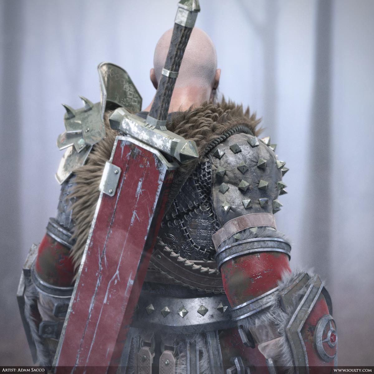 Adam sacco archaic warrior close2