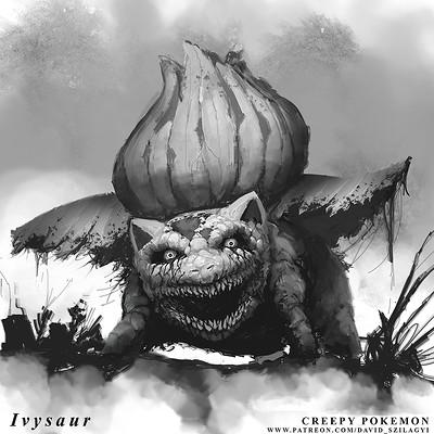 David szilagyi 002 ivysaur davidszilagyi nightmarefuelpokemon lowres
